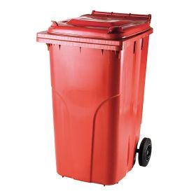 Conteneurs à ordures / poubelles en plastique de différents modèles