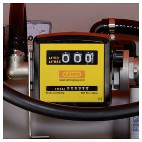 Dieseltank CUBE von CEMO mit Elektropumpe 230 V mit Zähler und Filter für den Aussenbereich | Inhalt 1000 – 7500 l