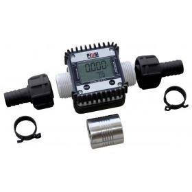 Digitaler Durchflusszähler K24 zur Montage am Schlauch oder dem Zapfventil