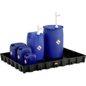 Handpumpe für Fässer bis 220 l, geeignet für Chemikalien und AdBlue®