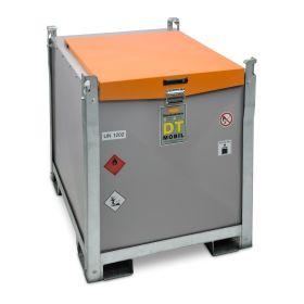 Mobile Dieseltankanlage von Cemo für Generatoren, 980 l