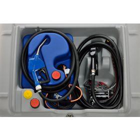 Système de pompage électrique avec buse automatique