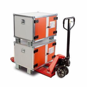 Zubehör zu Akku-Lade- und Lagerschrank - Stapelfüsse-Set