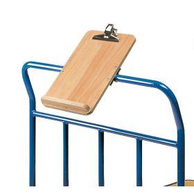 Schreibtafel DIN A4 hoch - Zubehör zu Transportwagen, Kommisionierwagen uvm.