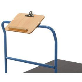 Schreibtafel DIN A4 quer - Zubehör zu Transportwagen, Kommisionierwagen uvm.