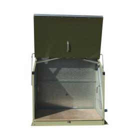 Boîte à colis / dépôt pour les services de livraison - verrouillable et ignifugée