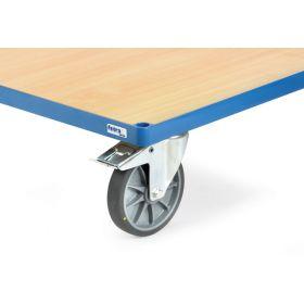 Aufpreis für Räder mit elektrisch leitfähigen TPE-Reifen, antistatisch, nicht kreidend