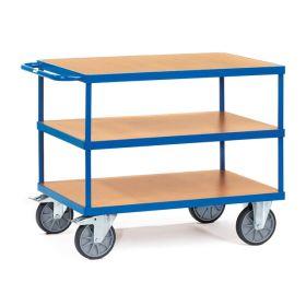 Schwere Tischwagen mit 2 oder 3 Ladeflächen