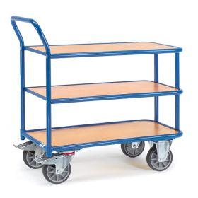 Tischwagen mit 2 oder 3 Ladeflächen