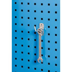 Porte-outil - crochet simple 45° (5 pièces)