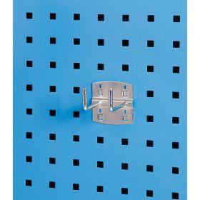 Porte-outils - crochet double 90° (5 pièces)