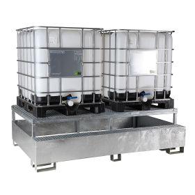 Abfüllstation für 1 - 2 IBC-Container