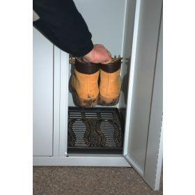 Zubehör Kunststoffeinlage zum Abtropfen von Schuhen