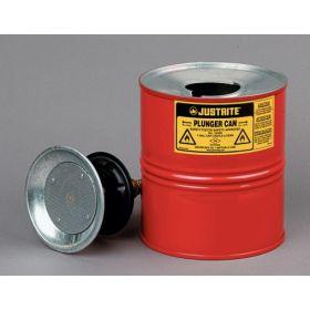 Behälter für brennbare Flüssigkeiten mit Anfeuchtteller