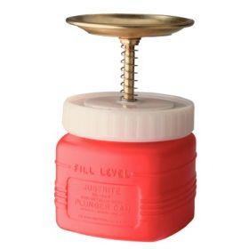 Behälter aus Polyethylen mit Anfeuchtteller