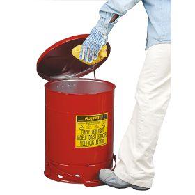 Abfallbehälter für verölte, brennbare Abfälle