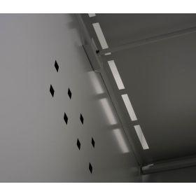 Garderobenschrank 2-türig