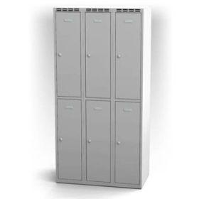 Garderobenschrank mit 6 Abteile