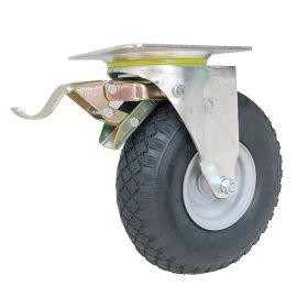 Roues de transport avec tuyau en différents modèles | diamètre de la roue 260 mm | dimensions du trou de vis 140 x 140 mm