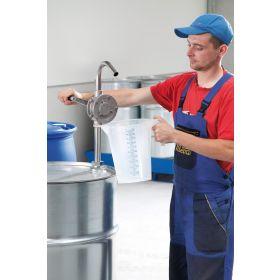 Pompe rotative en acier inoxydable pour diesel et huiles jusqu'à SAE 140