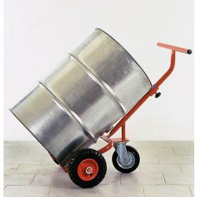 Fasskarre mit Stützrad, Tragkraft 300 kg