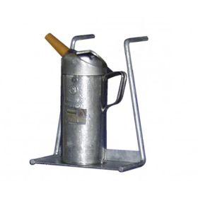 Support jerricane acier galvanisé pour rayonnages type 120/360/540 (pour variantes 1 et 3)