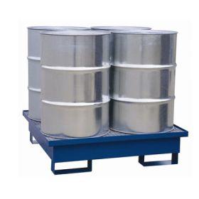 Auffangwanne für 1 - 4 Fässer à 200 l, in verschiedenen Varianten