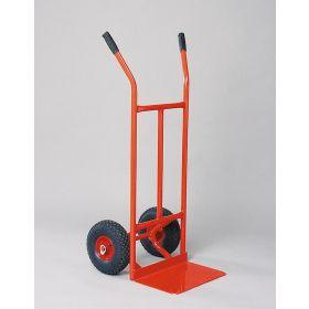 Sackkarre mit Luftbereifung und grosser Schaufel | Tragkraft 250 kg