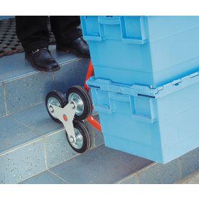 Treppenkarre mit Vollgummibereifung, Tragkraft 200 kg