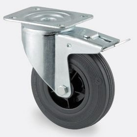 Roues de transport avec jantes en plastique et pneus en caoutchouc dans différentes tailles et modèles | diamètre 80 - 200 mm