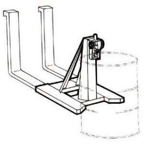 Fasslifter / Fassgreifer vertikal für Stapler