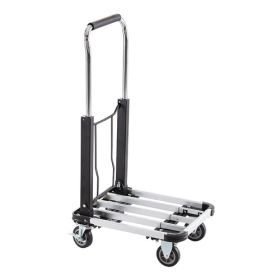 Chariot de transport en aluminium pliable