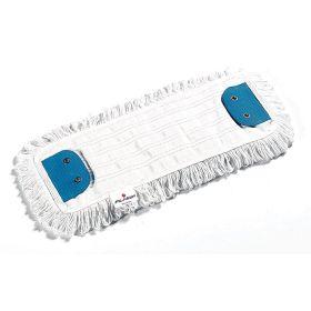 Wischmopp zur Nass- und Trockenreinigung aus 70 % Polyester und 30 % Wolle, Länge 40 cm