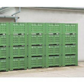 Kunststoffbox für Lagerung und Transport von Obst und Gemüse