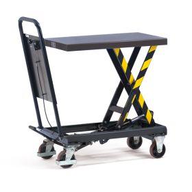 Hubtischwagen 250 kg, Höhe Tisch max. 910 mm, Tischgrösse 830 x 500 mm