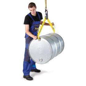 Scherengreifer / Fasszange horizontal für Fässer aus Metall