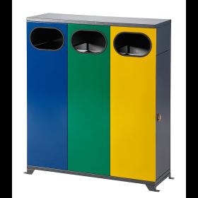 Abfallbehälter 3- oder 4-fach