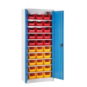 Armoire de rangement avec 30 casiers de rangement