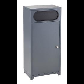 Abfallbehälter pulverbeschichtet