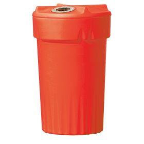 Conteneur en plastique avec ouverture en différentes Couleurs, capacité 150 litres