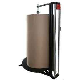 Distributeur avec cutter pour 1 rouleau de matériau d'emballage vertical