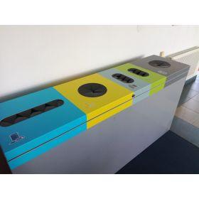 Abfallbehälter 5-fach