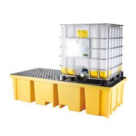 Auffangwanne für 2 IBC-Container