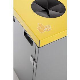 Abfallbehälter 3-fach