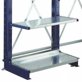 Accessoire Fond de socle pour rayonnages cantilever LIGHT et MEDIUM