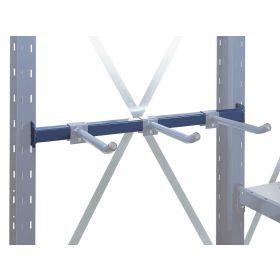 Accessoire Rail de support pour bras tubulaires pour rayonnages cantilever LIGHT & MEDIUM