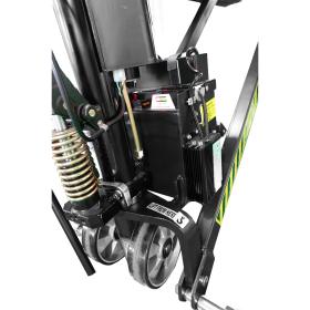 Elektrischer Scherenhubwagen | Tragkraft 1000 kg | Hubhöhe 800 mm | Gabellänge 1150 mm Batterie
