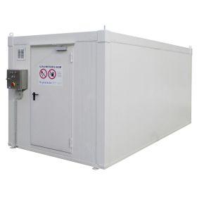 Brandschutzcontainer Stahl, Typ BLS, 90 min. feuerbeständig, begehbar, in diversen Grössen