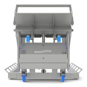 Standardkipper breit Edelstahl BR, Tragkraft 900 kg