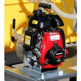 Mobiles Bewässerungssystem BWS 130-PE mit 3-Wege-Hahnensystem zum Bewässern, befüllen und untermischen von Zusatzstoffen | Inhalt 600 – 2000 l